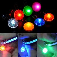 LEDs Pendentif Médaille de Collier Lumineux Clignotant Nuit pour Chien Animaux