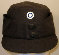 Finnish Finland Army Field Dress Hat Cap Metal Enlisted Cockade Pip size 7 or 56