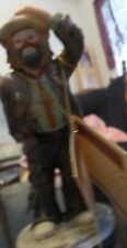 """Emmet Kelly, Jr Clown #10001, Looking Out To See, 5""""x2"""", New In Box, with Certif"""