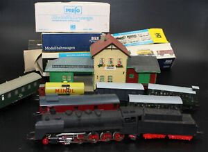 IN Set Railway With Steam Locomotive, PIKO Ho