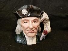 """Royal Doulton Character Jug Christopher Columbus # 6891 7"""" Tall"""
