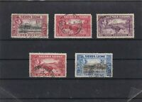 SIERRA LEONE  MOUNTED MINT OR USED STAMPS ON  STOCK CARD  REF R957