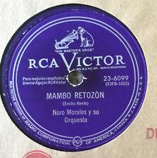 LATIN Noro Morales 78 rpm RCA Victor 23-6099 : MAMBO RETOZON- PIEL CANELA VV