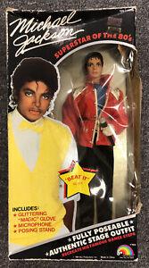 GG78 Vintage 1984 Michael Jackson Doll American Music Awards NIB