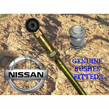 FRONT ADJUSTABLE PANHARD ROD INC GENUINE NISSAN BUSHES!! PATROL GQ GU SUSPENSION