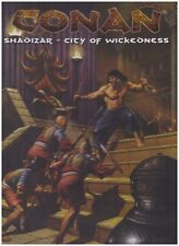 CONAN: Roleplaying Game, SHADIZAR CITY OF WICKEDNESS Box Set Fantasy RPG MGP7708