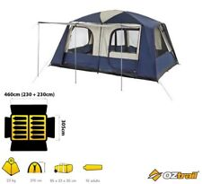 OZTRAIL LODGE FAMILY DOME TENT CAMPING 10 PERSON FAMILY TWO ROOMS