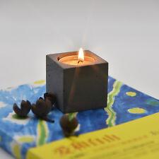 JM square shape Candlestick silicone molds silicone concrete mold food grade
