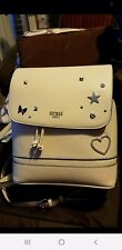 Guess Backpack- Beige With Star & Heart Accents -BRAND NEW