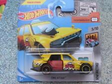 Hot Wheels 2018 #226/365 TIME ATTAXI yellow taxi HW City Works