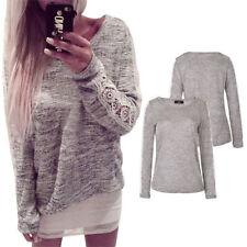 Long Sleeve Cotton Blend Blouse Size Petite for Women