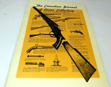 Canadian Journal of Arms Collecting Vol. 5 No. 1 February 1967 Shot Guns Pistols