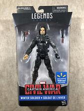 Marvel Legends Civil War Winter Soldier (Walmart Exclusive) Action Figure 2015