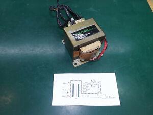 240V Rotel Mains Transformer Dual 120V Primary 160VA 0-25V Twin Secondary 3.15A