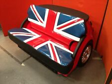 Retro Union Jack Flag Sofa Car Furniture Funky Furniture Reception Seating Mini