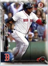 2016 Bowman Baseball #10 David Ortiz Boston Red Sox