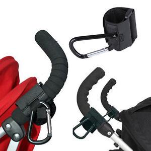 1Pc moda nero passeggino gancio gancio carrozzina per passeggino Car Carrozzin