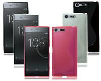 For Sony Xperia XZ2 & XZ Premium G8141 New Genuine Black Gel Phone Case Cover