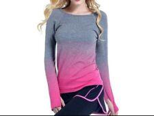 Professional Dry Quick Fitness T Shirt Women size L