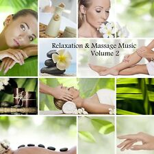RELAXATION & MASSAGE MUSIC CD VOL.2 - HEALING SPA THERAPY SALON STRESS RELIEF
