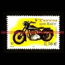 TERROT 500 RGST - FRANCE Moto Timbre Poste Stamp