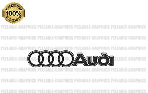 Audi Outline Decal Sticker A3 A4 A5 A6 A8 S4 S5 S6 RS4 Q3 Q5 Q7 TT R8