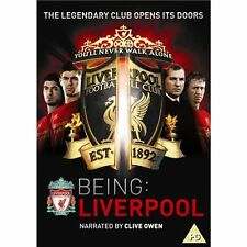 Being Liverpool (Football Club) New 2xDVD Region 4