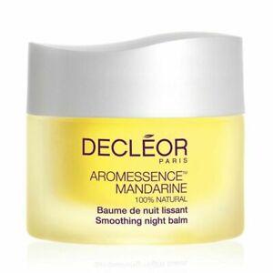 Decleor Aromessence Mandarine 100% Natural Smoothing Night Balm 15ml Boxed