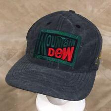 c3cff7f2f5f VTG Brett Favre Mountain Dew Gray Snapback Hat Cap Packers NFL Football  Farve