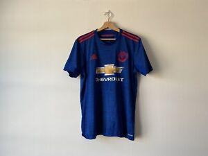Manchester United Away Shirt 2016/17 (M) Europa Men's Medium Football Jersey