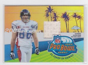 2004 Topps Chrome - Pro Bowl Jerseys - Todd Heap #PDP-TH