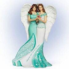 Bradford Exchange Always My Sister, Now Too My Friend Angel Figurine