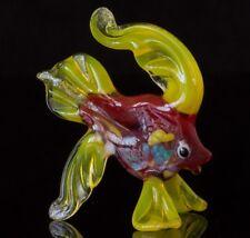 Fish Glass Sculpture, Blown Art, Home Decor Animal Figurine