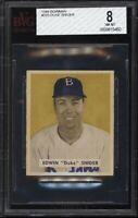 1949 Bowman BB Card #226 Duke Snider Brooklyn Dodgers ROOKIE CARD BVG NM-MT 8 !!