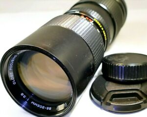 Vivitar  85-205mm f3.8 Close Focus Lens  for Nikon Non Ai F
