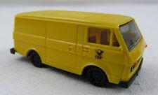 "VW LT Trasporter Post ""DBP"" gelb Herpa 1:87 H0 ohne OVP [G24]"