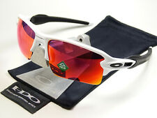Oakley Flak Jacket 2.0 XL White Red Prizm Field Sonnenbrille Racing Fast Jawbone