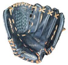 "Mizuno GPL1153D 11.5"" Youth Baseball Softball Glove Black RHP Power Close Flex"