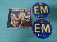 ENERGIA MIX LA ENERGIA DE TU VIDA - 2 X CD SPICE GIRLS NACHO CANO TECHNOTRONIC
