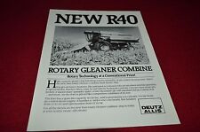 Deutz Allis Chalmers R40 Combine Dealers Brochure BWPA