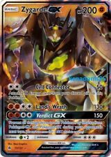 Pokemon SM6 Forbidden Light Zygarde GX Ultra Rare Card 73/131