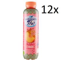 12x San benedetto ice tea BIO Eistee Pfirsch The' Pesca PET 40 cl  tea the