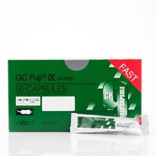 GC FUJI IX GP FAST A2 CAPSULES - BOX OF 50 CAPSULES -FDA