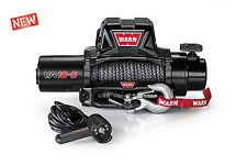 WARN 96815 VR10S 10000lb Winch 12V Hawse Fairlead 90' 3/8 Synthetic Rope