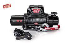 WARN 96815 VR10S 10000lb Winch 12V Hawse Fairlead 90' 3/8 Synthetic Rope