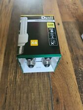 Diial E27 X 4 Compact Fluorescent Light 630 Lumen
