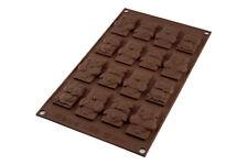 Stampo Cioccolato Gufi Silicone Silikomart Easychoc Choco Tags Funny Sf199 mshop