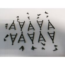 ** Brekina 10030 Pack of Coupling Bars (10) 1:87 HO Scale