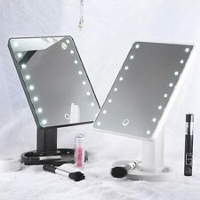 Beautify Makeup Mirror Vanity 16 LED Light Illuminated Dimmable Touch Mirror