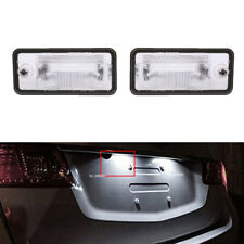 License Plate Light LH & RH For Audi A3 A4 B6 B7 A5 A6 C6 A8 D3 Q7 RS4 2001-